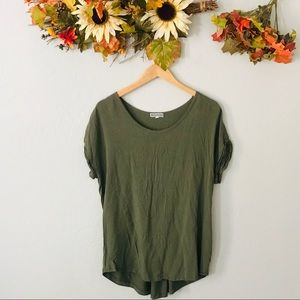 Pleione Large Olive Green Shirt